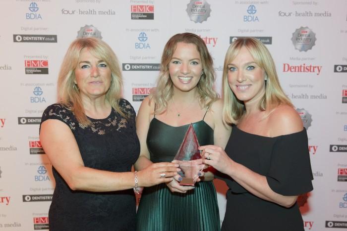From left to right: Anne Evans, Georgina Muhlberg and Gemma Barker.